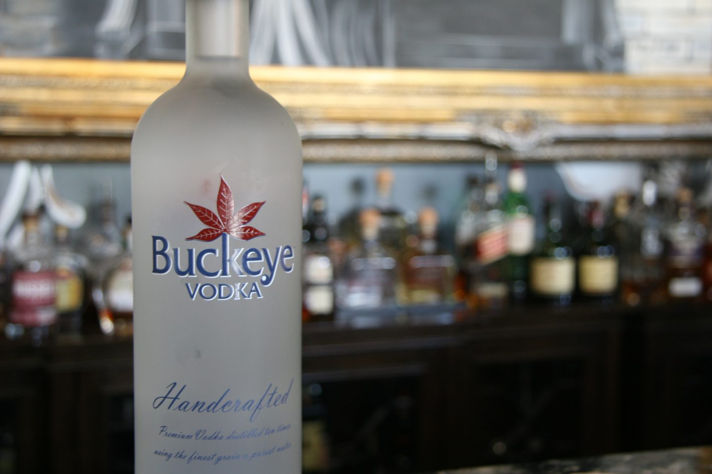 Buckeye Vodka at De Novo