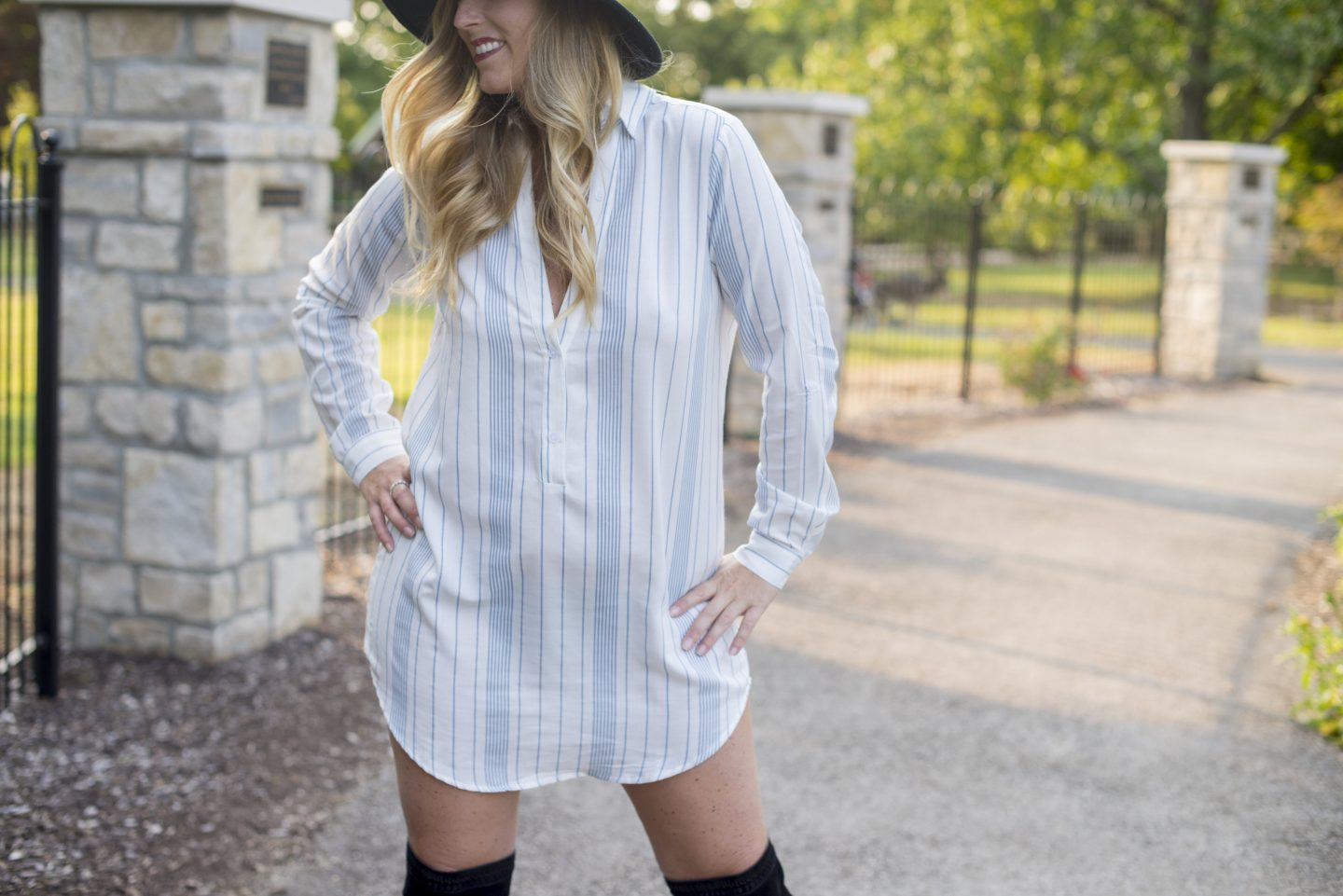 TOBI: Shirt Dress