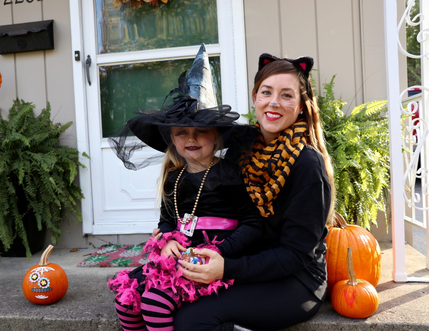 A Witch & Her Black Cat